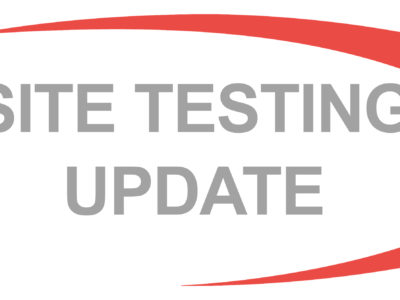TEMPORARY SUSPENSION OF SITE-BASED TESTING ACTIVITIES